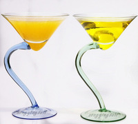 FREE SHIPPING Corner cocktail glass martini glass household goods