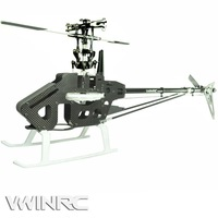 VWINRC 450 PRO with Flybar Kit T-rex 450 PRO Kit 6CH rc helicopter free shipping