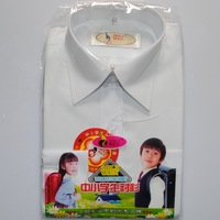 Free Shipping Classic children's clothing polyester cotton long-sleeve white shirt child shirt child shirt 0