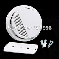 free shipping,SS168 Photoelectric Wireless Fire Smoke Alarm Detector 9v battery Operated NEW