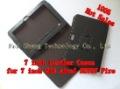 100% Дешевое 7-дюймовый Кожаные футляры И Чехлы Для 7-дюймовый Планшетный ПК СЕРЕДИНЕ Ainol NOVO7 Огонь MOQ 12pccs/ Free