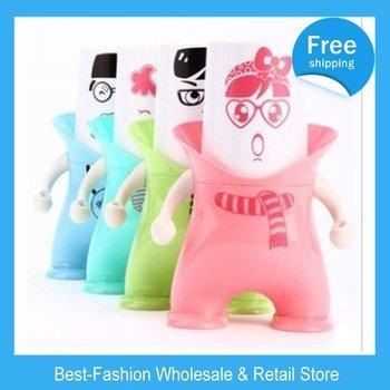 DHL Free Shipping 10pcs/lot Guardian wash gargle suit dustproof gargle cup triad wash gargle suit creative toothbrush rack