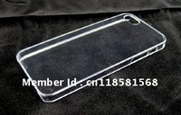 Crystal Clear Transparent Hard Slim thin Skin Case Shell Cover For IPHONE 5 5G 5TH ACCESSORY White