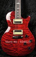 SE 245 Singlecut Black Cherry Quilt Top Ltd Edition Electric Guitar