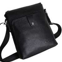 Genuine leather man bag male business casual shoulder bag first layer of cowhide messenger bag