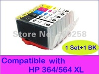 6 pcs New Compatible ink cartridge for HP 564 564XL 364 364XL B8500 C309 B8550 B209a C5337