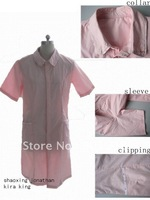pink nurse dress/ medical scrubs