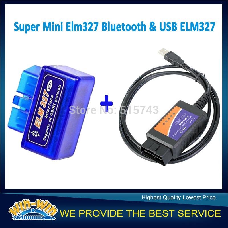 super mini ELM327 Bluetooth OBD-II OBD the smallest around the world