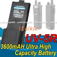 7.4V 3800mAh Ultra High Capacity Battery BL-5L for BAOFENG UV-5R Dual Band radio 5R big battery
