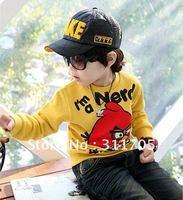 children hoodies  sweaters (M120623)suitable for 4-6years children 4pcs/lot x 5lots=20pcs