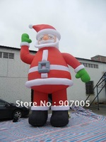 DD45  10mH 33'  Huge Commercial Airblown Inflatable Santa Claus Christmas Yard Art Decoration + 1 CE/UL Blower + Repair Kids