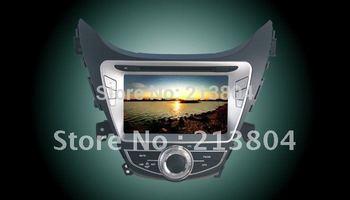 Car stereo DVD GPS Navigation Radio Bluetooth Player for Hyundai Elantra 2012 2013 2014