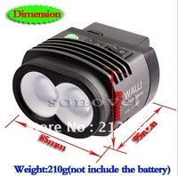 DHL + EMS  camera DSLRKIT WALLI LED VIDEO Light 2000LM 5600k for PENTAX K-7 K-5 K-r K-x