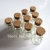 22 x 25 mm Wholesale Lot 10 Pcs Small Empty Clear Cork Glass Bottles Vials 4.0ml For Wedding Holiday Decoration Christmas Gifts