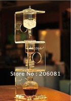 4C ice coffee dripper/ice dripper coffee ,elegant crystal design,diamond sercies,high-end gift