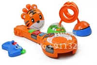 Best selling!! Children's plastic music guitar toy baby ratter toy Free shipping 1 pcs