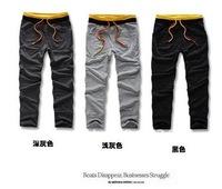 South Korea  Style Men's Fashion Slim Fit Casual Stylish Suit Pants Classic Trousers