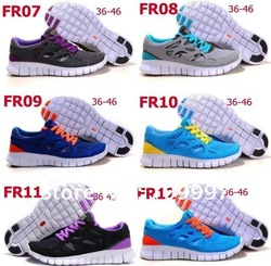 Wholesale Free Run+2 Running Shoes Design Shoes New with tag Unisex shoes Free shipping Athletic Shoes(China (Mainland))