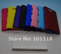 10pcs/lot wholesale-Newest Rubberized Hard Plastic Cover Case for Nokia Lumia 820