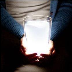 Free shipping order achieve $18 Hot-selling luminous milk cup lamp small night light lamp Magic Tray Lamp