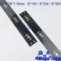 380*26*1.5mm 18W aluminum plate led circuit board  Aluminium PCB Circuit Board