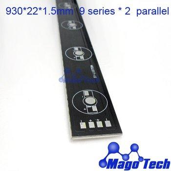930*22*1.5mm 18W 36W aluminum  Lumens RGB  LED  plate led circuit board  PCB Circuit Board