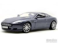 Motormax 1:18 Aston Martin DB9 sports car model blue