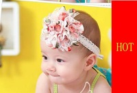 Baby Hairband/baby hair accessories /fashion baby Flower Headband,50pcs/lot