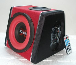 Motorcycle audio 2012 parallel-chord 6 subwoofer motorcycle car subwoofer computer subwoofer(China (Mainland))
