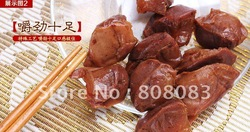 Free shiping Health care China time-honored brand LiFeng food - 500 grams of bulk duck gizzard , leisure snacks(China (Mainland))