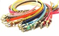 freeshippping candy color all-match female thin belt strap hf545