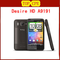 Desire HD original new unlocked GSM 3G Android cell phone 8MP GPS WIFI 4.3&quot; A9191 G10 one year warranty