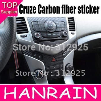 Hot Sale Chevrolet Cruze AT/MT Carbon fiber sticker Car interior decoration 4pcs/set automatic-shift car accessory
