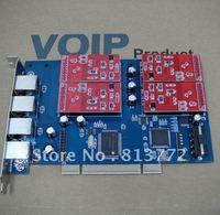 Latest Version TDM410P 4 Port Asterisk FXO PCI Card Support Asterisk Trixbox Elastix