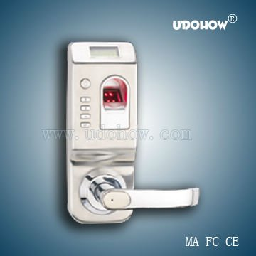 Stainless steel Finger Print Door Lock system with password in China (DH8904-Y)(China (Mainland))