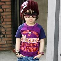 Футболка для девочки 2012 autumn child boy's clothing cartoon T-shirt male child female child baby long-sleeve T-shirt basic shirt
