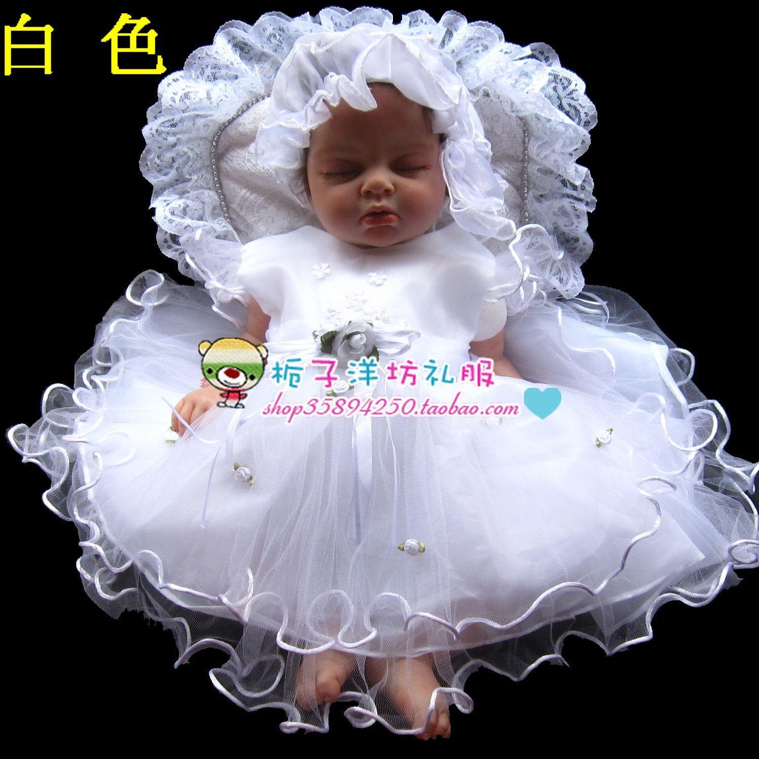 Dress baby princess dress female child one piece dress tulle dress