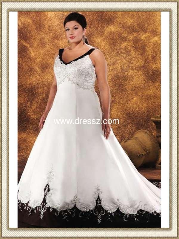 Plus Size Designer Gothic Wedding Dresses - Short Hair Fashions