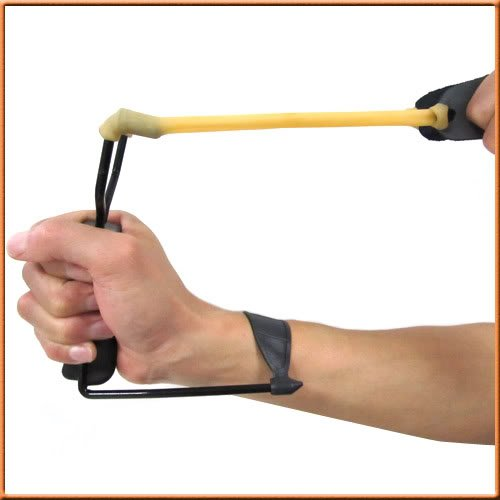 new Powerful Folding Wrist Sling Shot Slingshot Outdoor Hunting High Velocity Brace[230120]