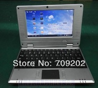 Ebook 7 inch netbook CE6.0 Android 4 double system video of A10 mini computer