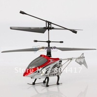 Free Shipping ! 4 Channel 4CH 2.4GHZ Remote Radio Control RC Helicopter with GYRO Metal Heli, Red Available