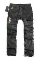 Wholesale Men's GS black jeans,Top quality dimensional cut denim jeans,All seasons men's straight denim pants.us size:28-38