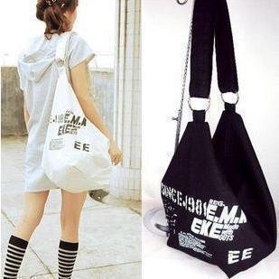 Free shipping 2014 student bag shoulder bag messenger bag canvas casual women's handbag preppy style