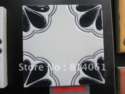 Personalised design hand printing art ceramic mosaic tile for wall decoration(China (Mainland))