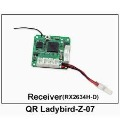 F03818 Walkera Spare Parts QR Ladybird-Z-07 Receiver for QR Ladybird Mini UFO Ladybird + Free shipping