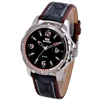 Men's watch quartz watch fashion watch strap casual trend male watch  Free shipping