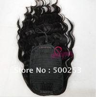 Sunnymay Body Wave Malaysian Virgin Human Hair drawstring ponytail extension