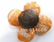 Free shipping  500g Tangerine peel mini  Pu'er tea100pcs/bag