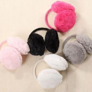 Retail New colorful Earmuffs Earwarmers Ear Muffs Earlap Earflap Warm Ear cover Headband Winter rabbit plush