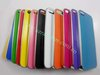 100pcs/lot Hard Metal Back Cover Case for iPhone 5G free shipping